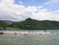 Lake Caldaro triathlon